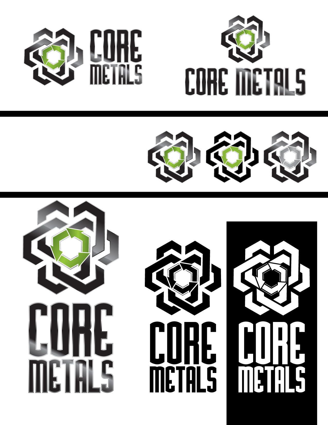 Logo Design by Jesus P Quiroga - Entry No. 26 in the Logo Design Contest New Logo Design for Core Metals Inc.