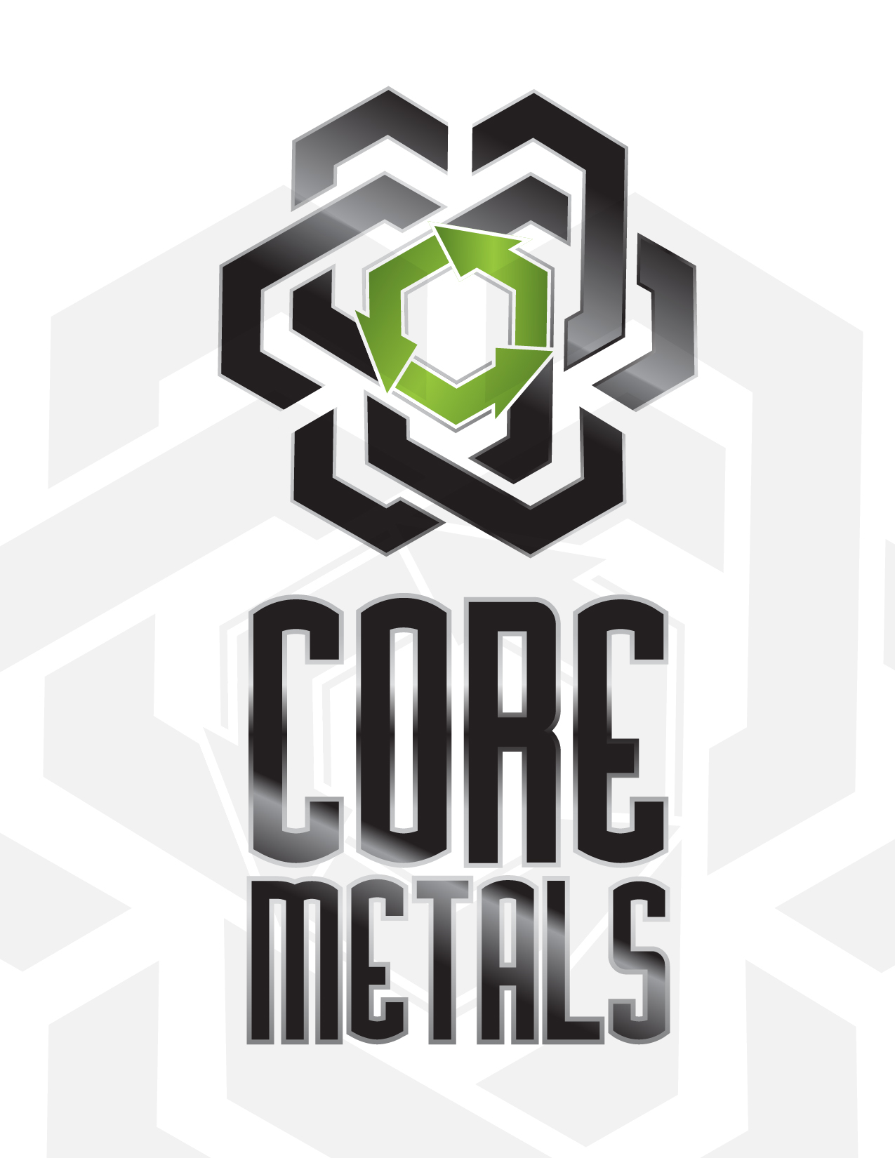 Logo Design by Jesus P Quiroga - Entry No. 27 in the Logo Design Contest New Logo Design for Core Metals Inc.