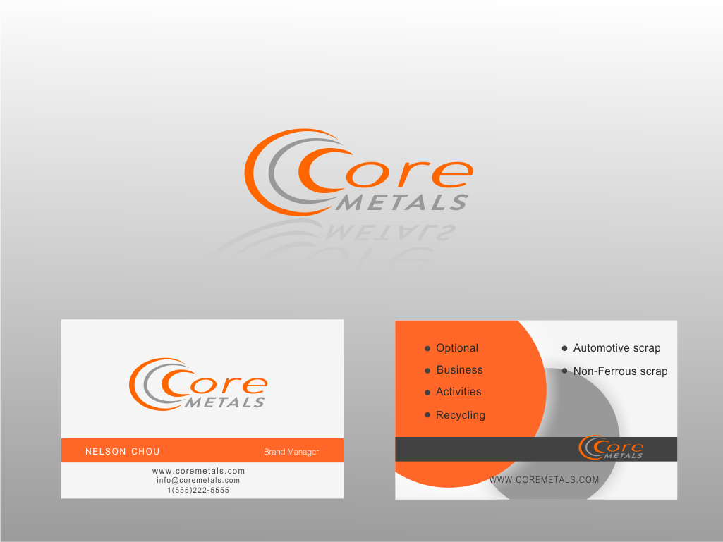 Logo Design by Q_Division_Designs - Entry No. 30 in the Logo Design Contest New Logo Design for Core Metals Inc.