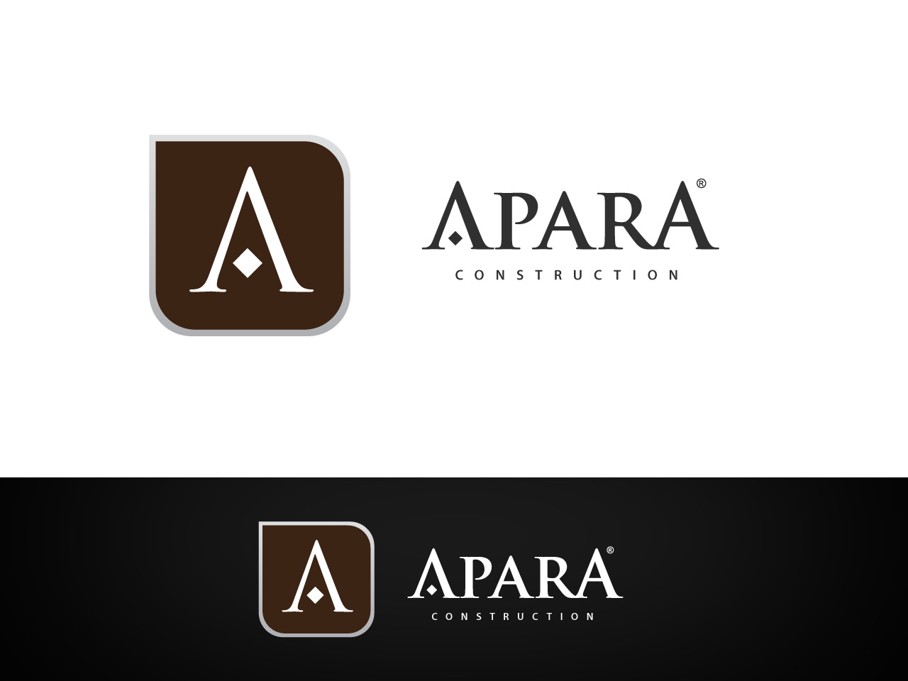 Logo Design by jpbituin - Entry No. 45 in the Logo Design Contest Apara Construction Logo Design.