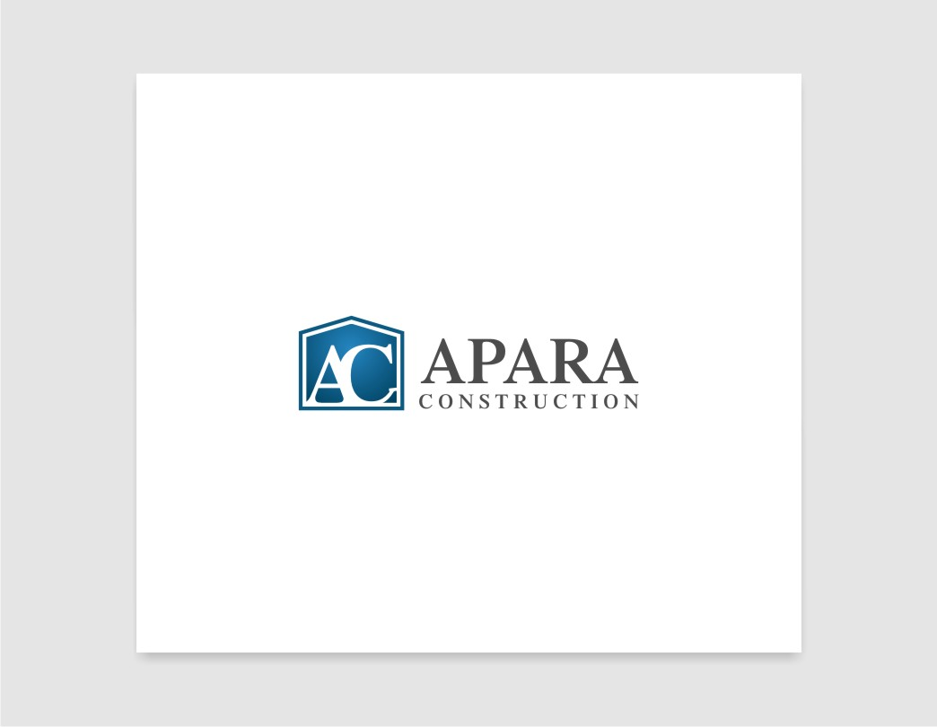 Logo Design by untung - Entry No. 46 in the Logo Design Contest Apara Construction Logo Design.