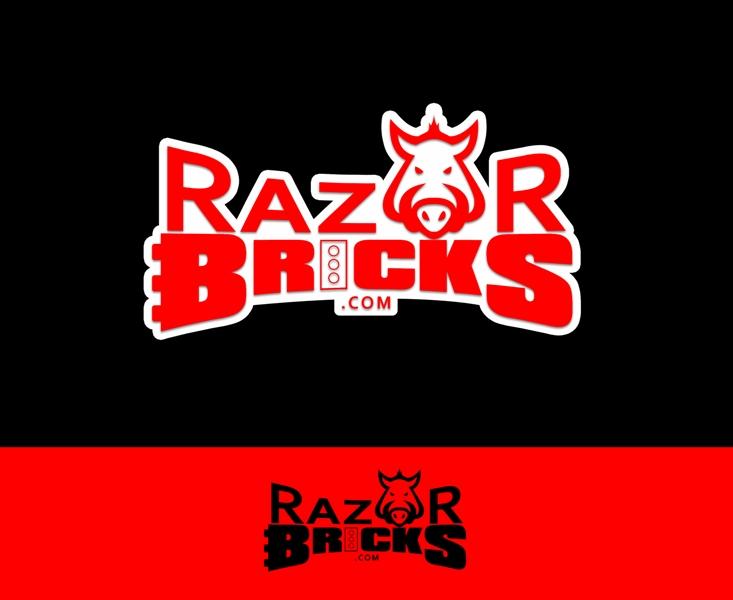 Logo Design by Juan_Kata - Entry No. 52 in the Logo Design Contest Unique Logo Design Wanted for razorbricks.com.
