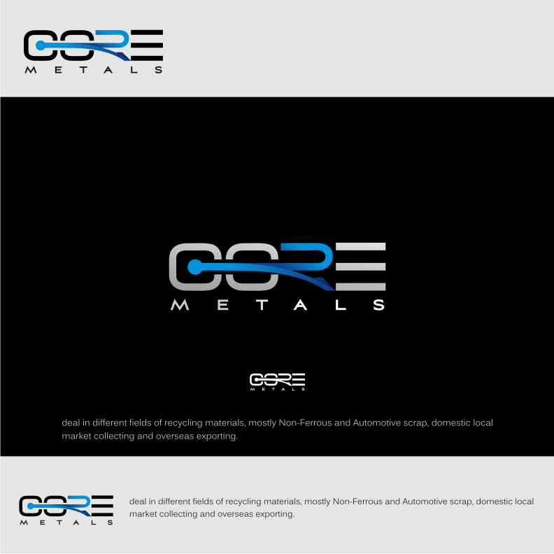 Logo Design by graphicleaf - Entry No. 35 in the Logo Design Contest New Logo Design for Core Metals Inc.