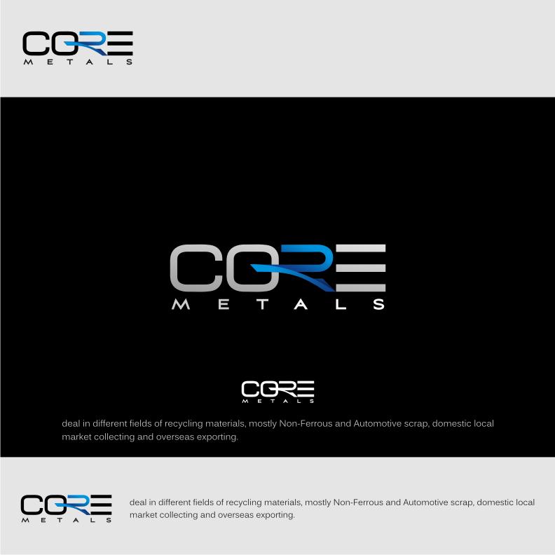 Logo Design by Muhammad Nasrul chasib - Entry No. 36 in the Logo Design Contest New Logo Design for Core Metals Inc.