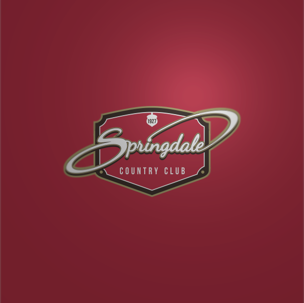 Logo Design by Private User - Entry No. 87 in the Logo Design Contest Unique Logo Design Wanted for Springdale Country Club.
