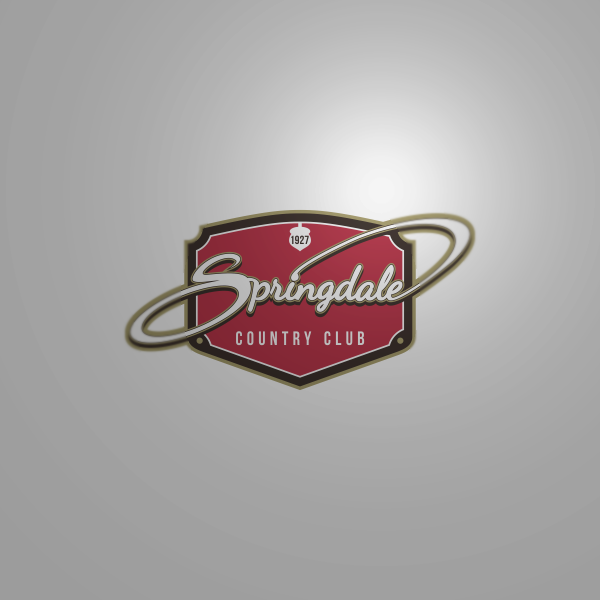 Logo Design by Private User - Entry No. 88 in the Logo Design Contest Unique Logo Design Wanted for Springdale Country Club.