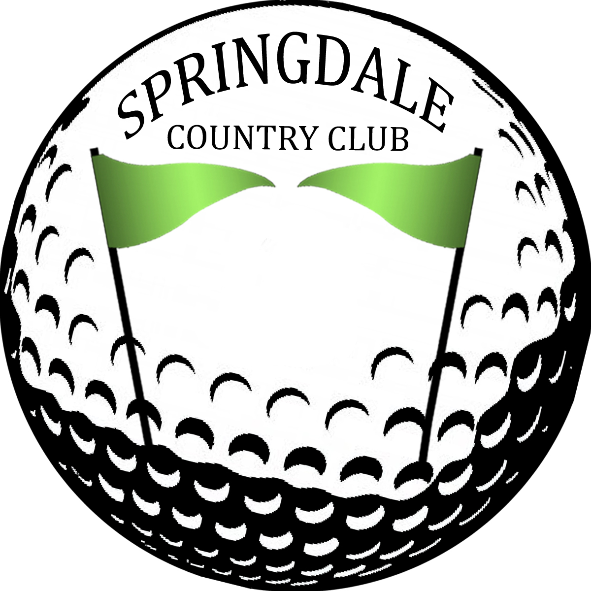 Logo Design by Istiana Suhartati - Entry No. 91 in the Logo Design Contest Unique Logo Design Wanted for Springdale Country Club.