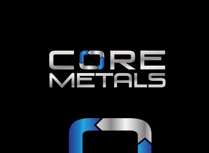 Logo Design by Jan Chua - Entry No. 43 in the Logo Design Contest New Logo Design for Core Metals Inc.