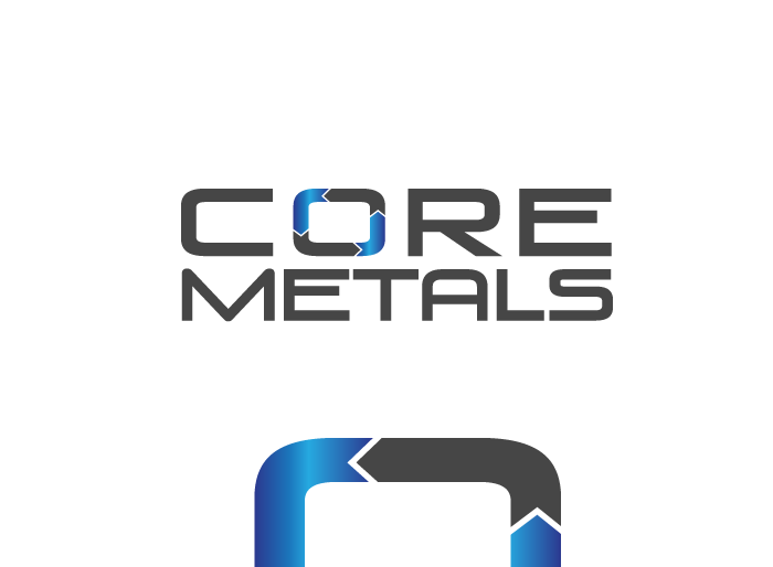 Logo Design by Jan Chua - Entry No. 44 in the Logo Design Contest New Logo Design for Core Metals Inc.
