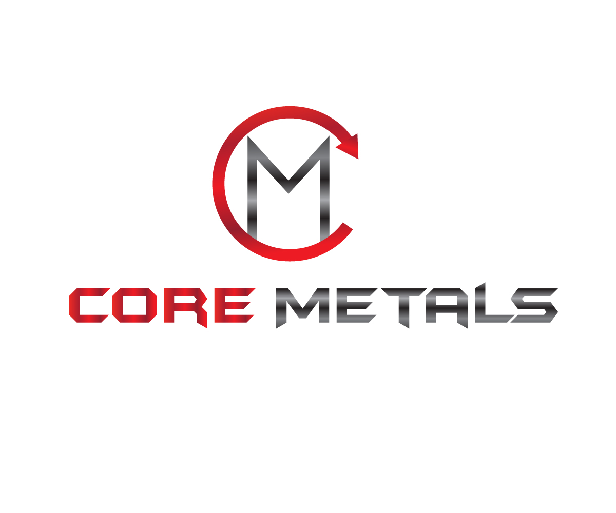 Logo Design by Krishna Ch - Entry No. 45 in the Logo Design Contest New Logo Design for Core Metals Inc.