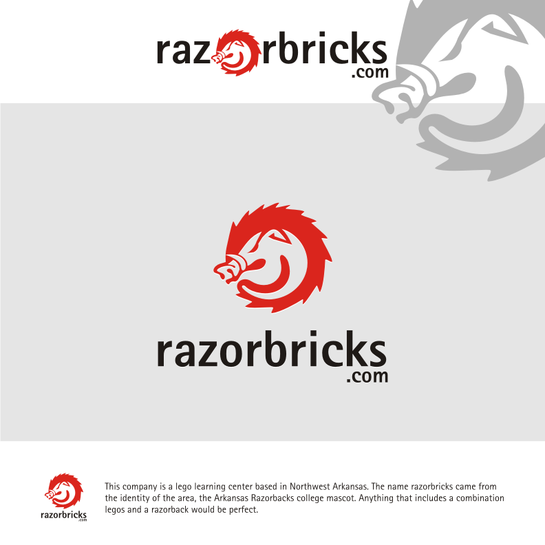 Logo Design by graphicleaf - Entry No. 57 in the Logo Design Contest Unique Logo Design Wanted for razorbricks.com.