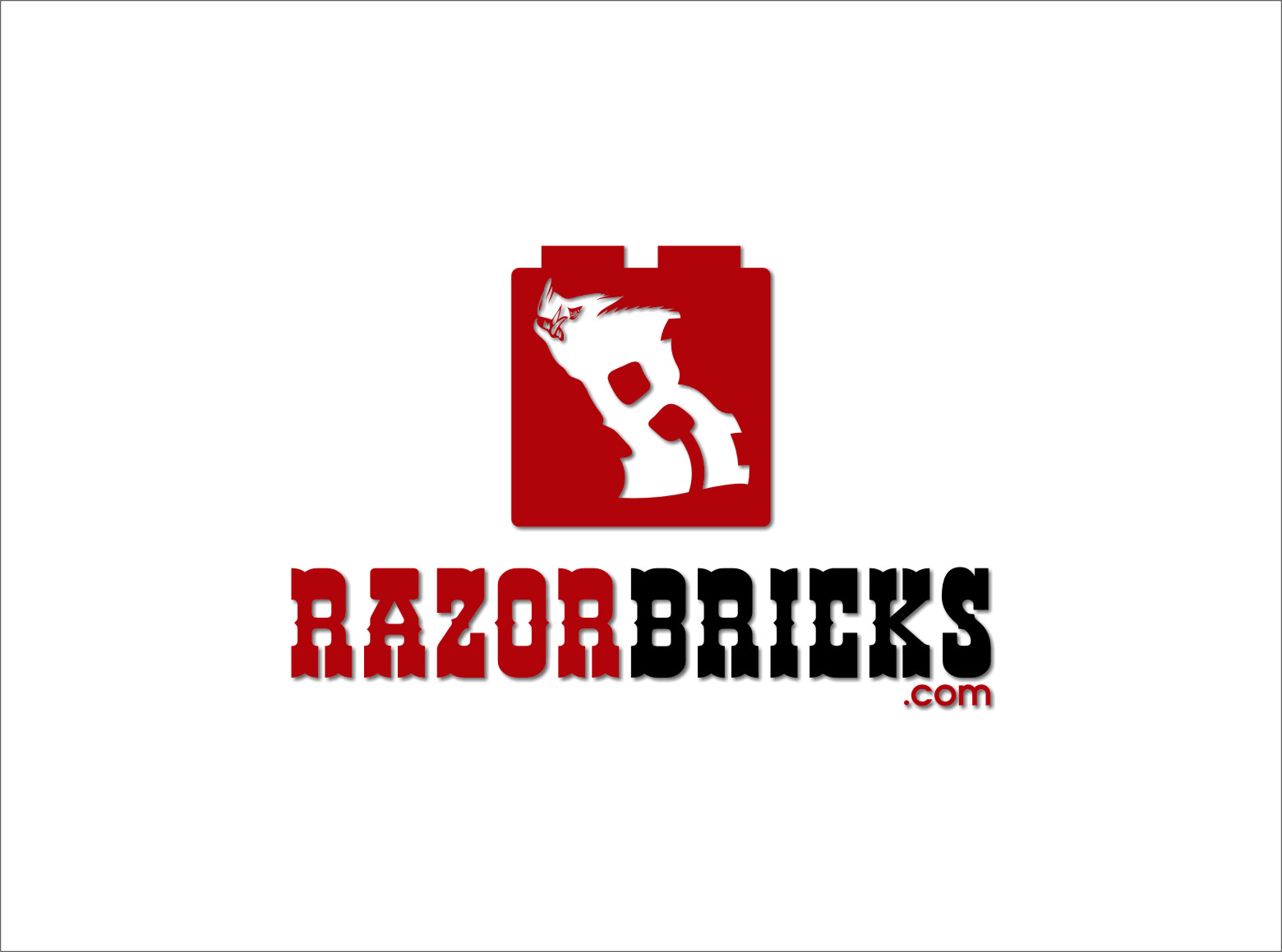 Logo Design by Ngepet_art - Entry No. 58 in the Logo Design Contest Unique Logo Design Wanted for razorbricks.com.