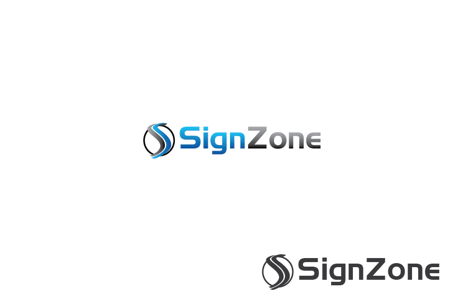Logo Design by Private User - Entry No. 3 in the Logo Design Contest Fun Logo Design for The Sign Zone.