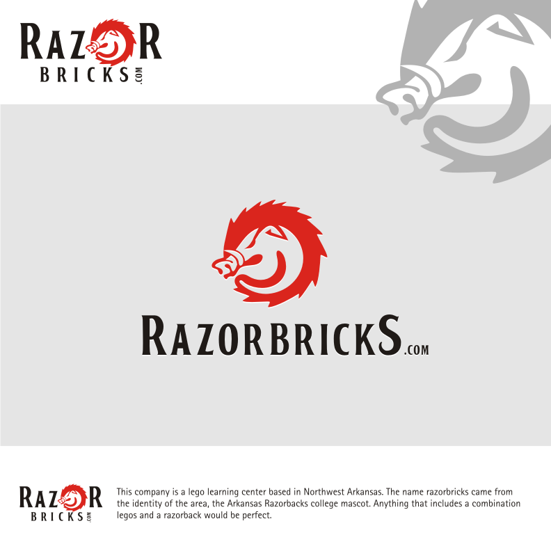 Logo Design by graphicleaf - Entry No. 60 in the Logo Design Contest Unique Logo Design Wanted for razorbricks.com.