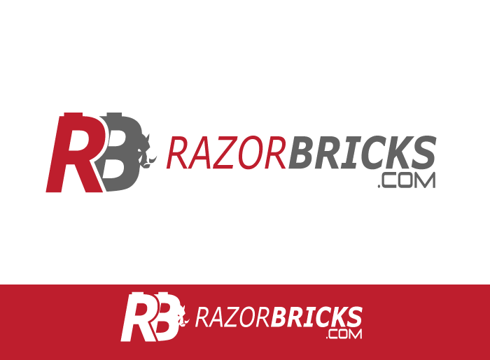 Logo Design by Jan Chua - Entry No. 63 in the Logo Design Contest Unique Logo Design Wanted for razorbricks.com.