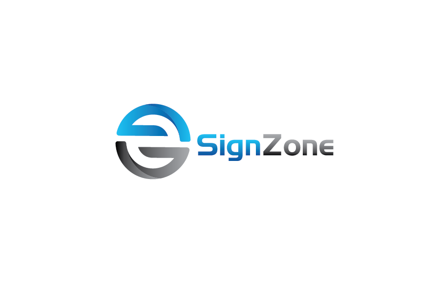 Logo Design by Private User - Entry No. 4 in the Logo Design Contest Fun Logo Design for The Sign Zone.