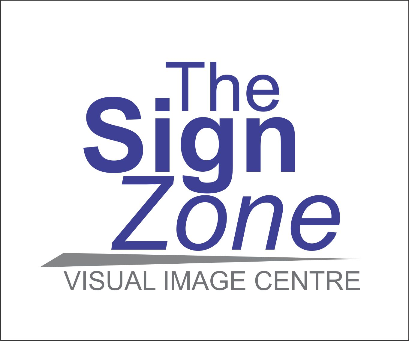 Logo Design by Private User - Entry No. 5 in the Logo Design Contest Fun Logo Design for The Sign Zone.