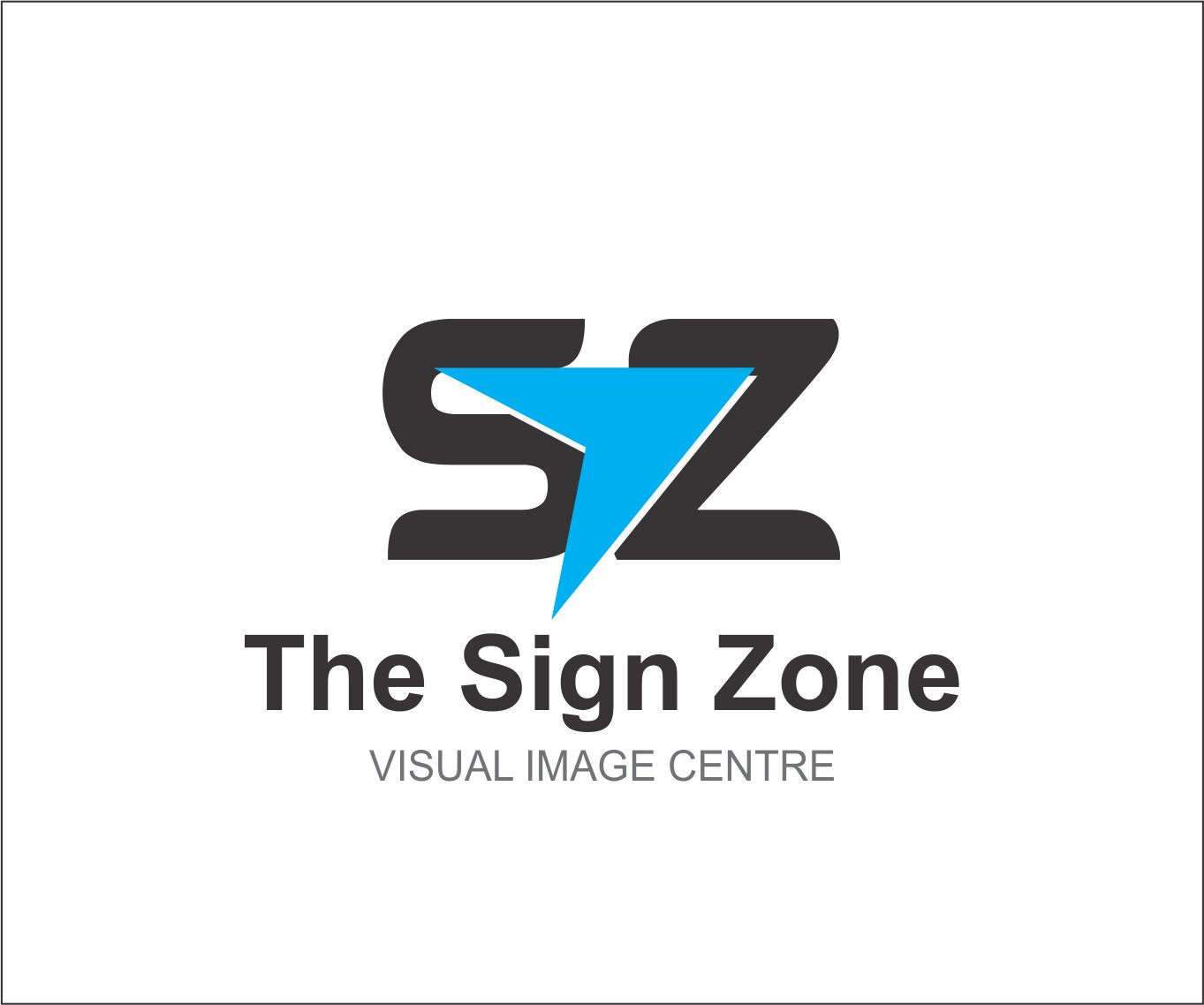Logo Design by Private User - Entry No. 6 in the Logo Design Contest Fun Logo Design for The Sign Zone.