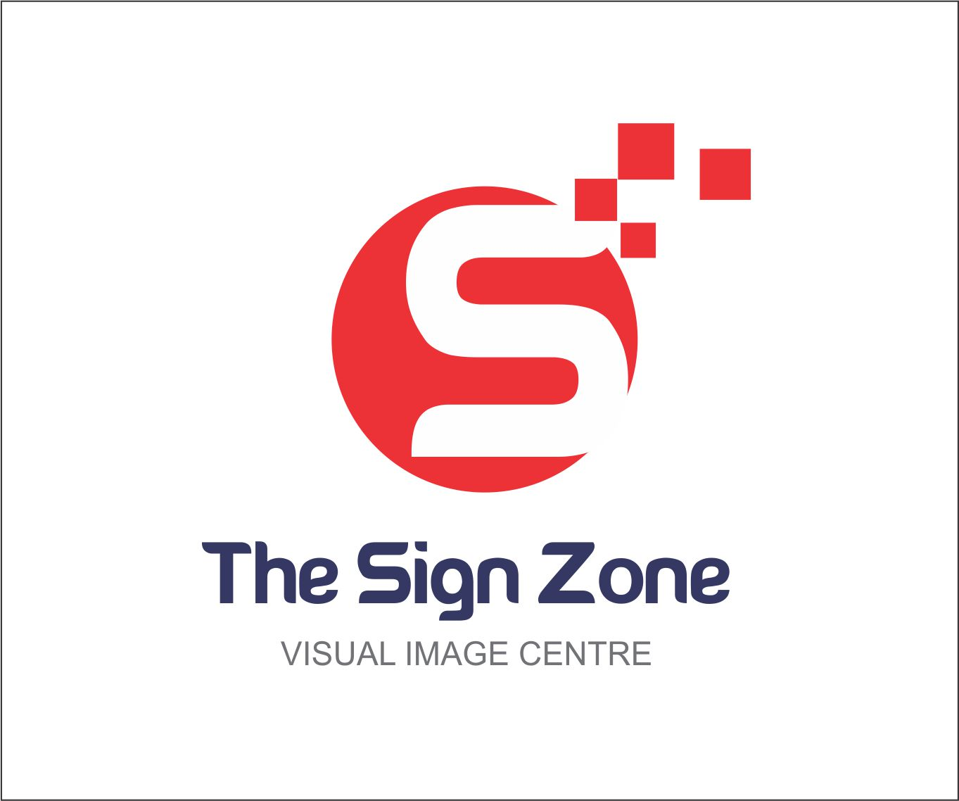Logo Design by Private User - Entry No. 8 in the Logo Design Contest Fun Logo Design for The Sign Zone.