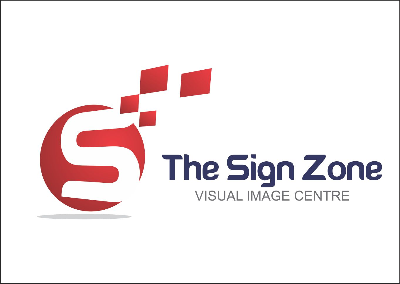 Logo Design by Private User - Entry No. 9 in the Logo Design Contest Fun Logo Design for The Sign Zone.