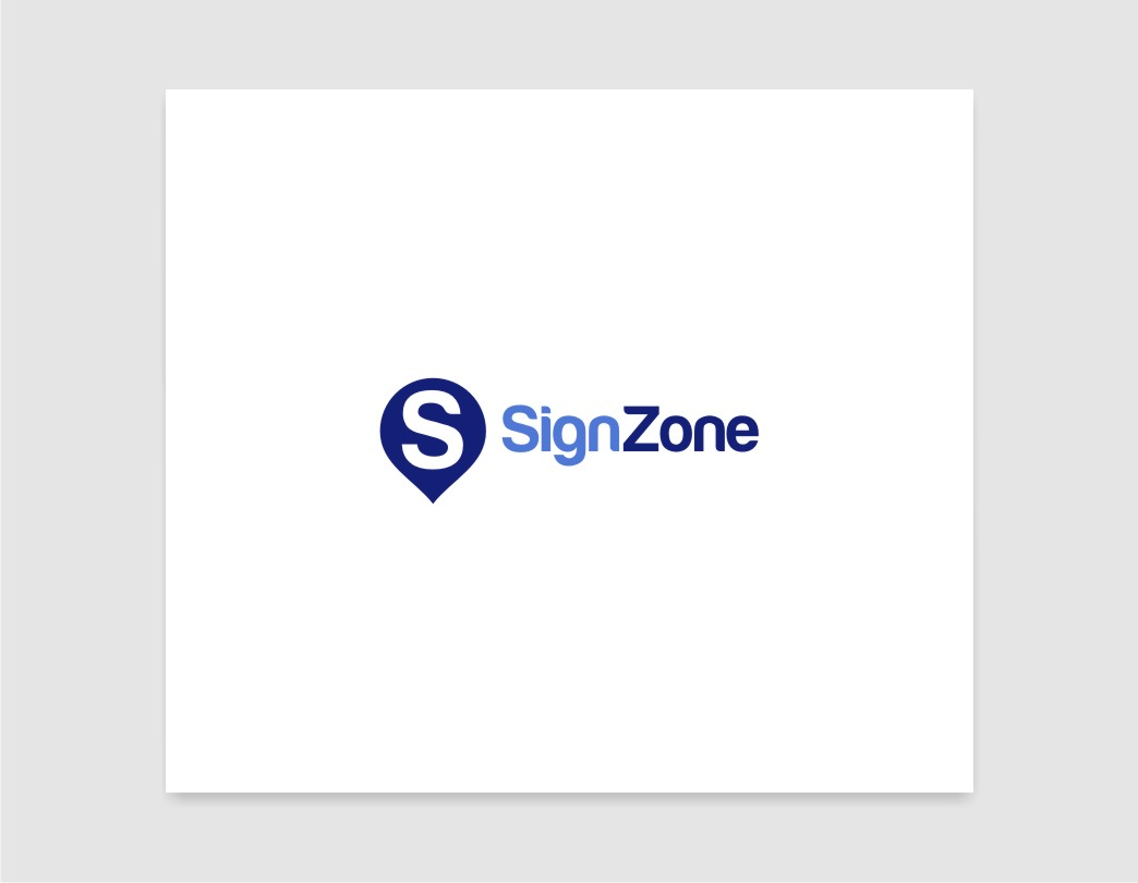 Logo Design by untung - Entry No. 13 in the Logo Design Contest Fun Logo Design for The Sign Zone.
