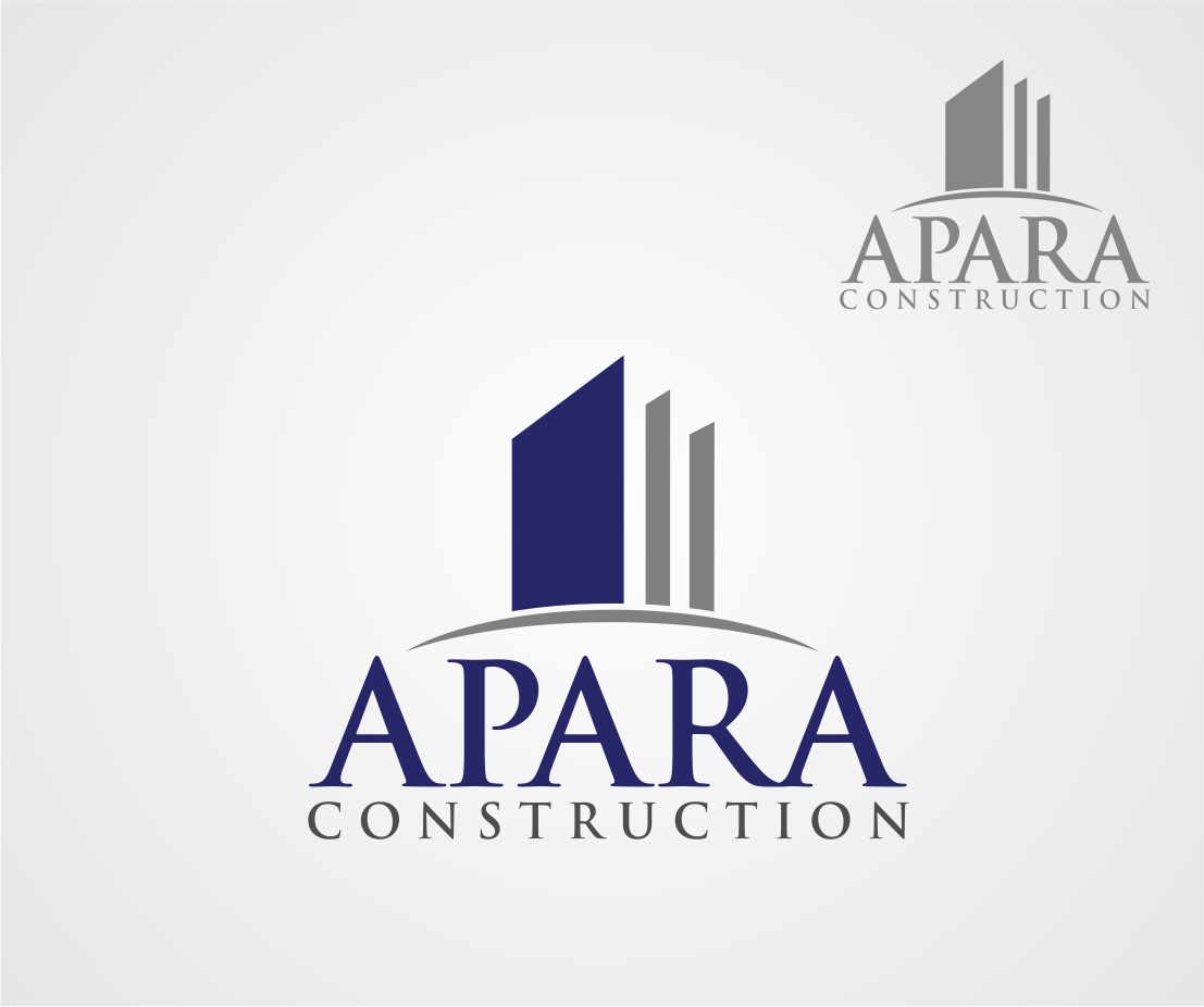 Logo Design by Reivan Ferdinan - Entry No. 50 in the Logo Design Contest Apara Construction Logo Design.