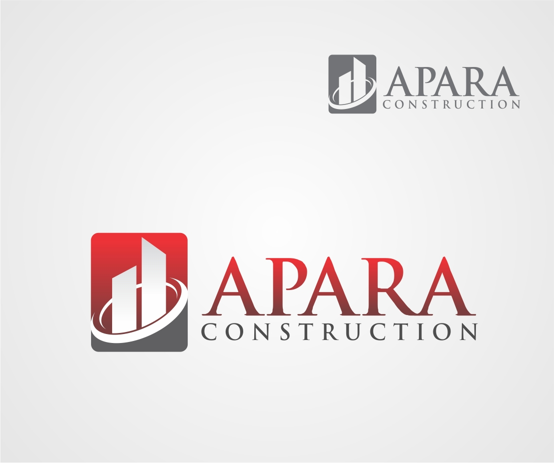 Logo Design by Reivan Ferdinan - Entry No. 51 in the Logo Design Contest Apara Construction Logo Design.