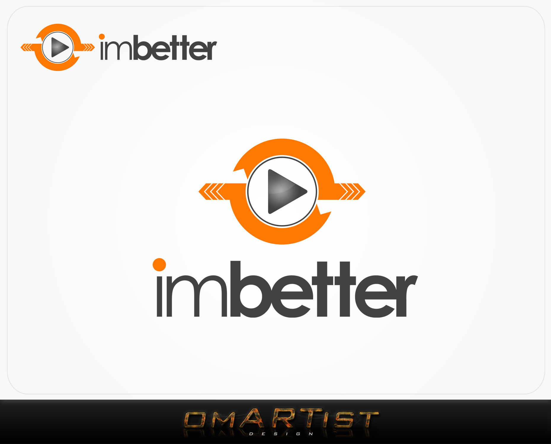 Logo Design by omARTist - Entry No. 17 in the Logo Design Contest Imaginative Logo Design for imbetter.