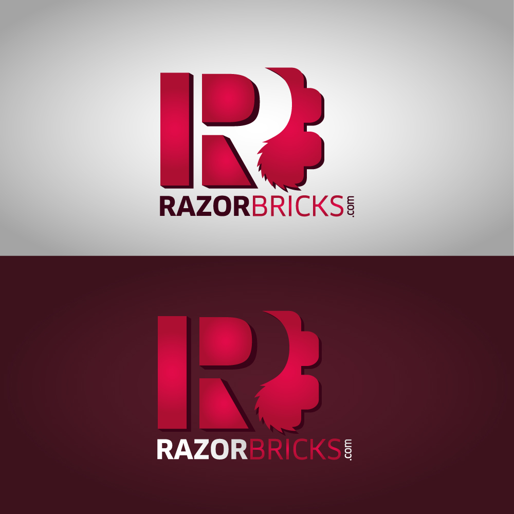 Logo Design by danelav - Entry No. 68 in the Logo Design Contest Unique Logo Design Wanted for razorbricks.com.