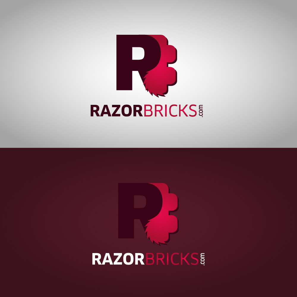 Logo Design by danelav - Entry No. 70 in the Logo Design Contest Unique Logo Design Wanted for razorbricks.com.