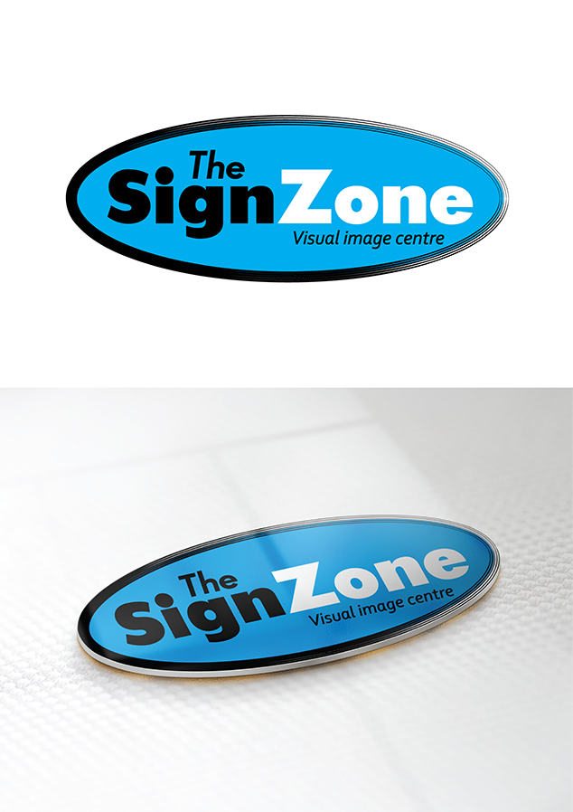 Logo Design by robken0174 - Entry No. 18 in the Logo Design Contest Fun Logo Design for The Sign Zone.