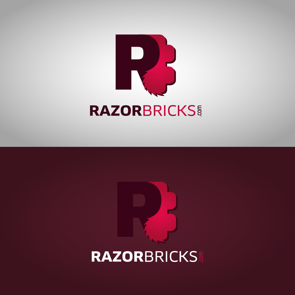 Logo Design by danelav - Entry No. 72 in the Logo Design Contest Unique Logo Design Wanted for razorbricks.com.