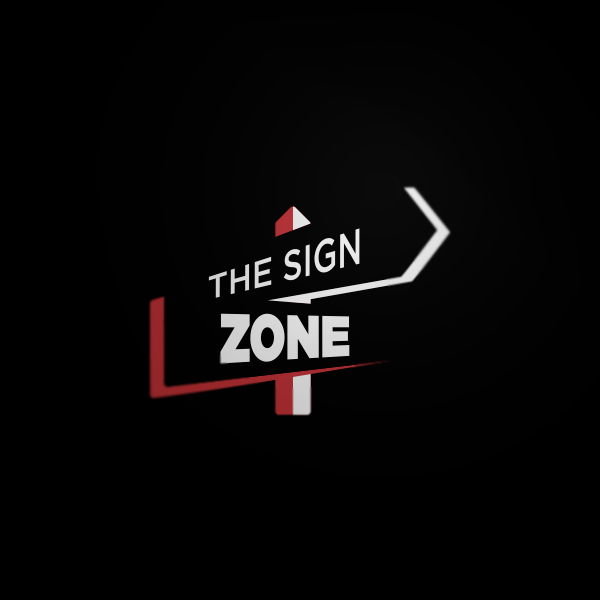 Logo Design by Private User - Entry No. 20 in the Logo Design Contest Fun Logo Design for The Sign Zone.