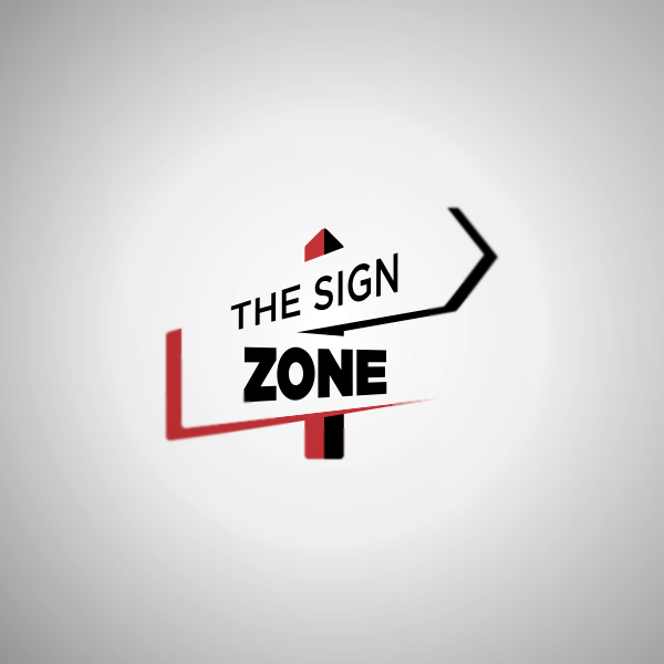 Logo Design by Private User - Entry No. 21 in the Logo Design Contest Fun Logo Design for The Sign Zone.