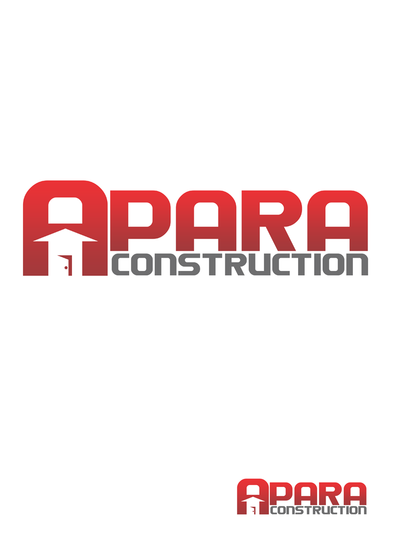 Logo Design by Private User - Entry No. 56 in the Logo Design Contest Apara Construction Logo Design.