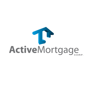 Logo Design by DINOO45 - Entry No. 70 in the Logo Design Contest Active Mortgage Corp..