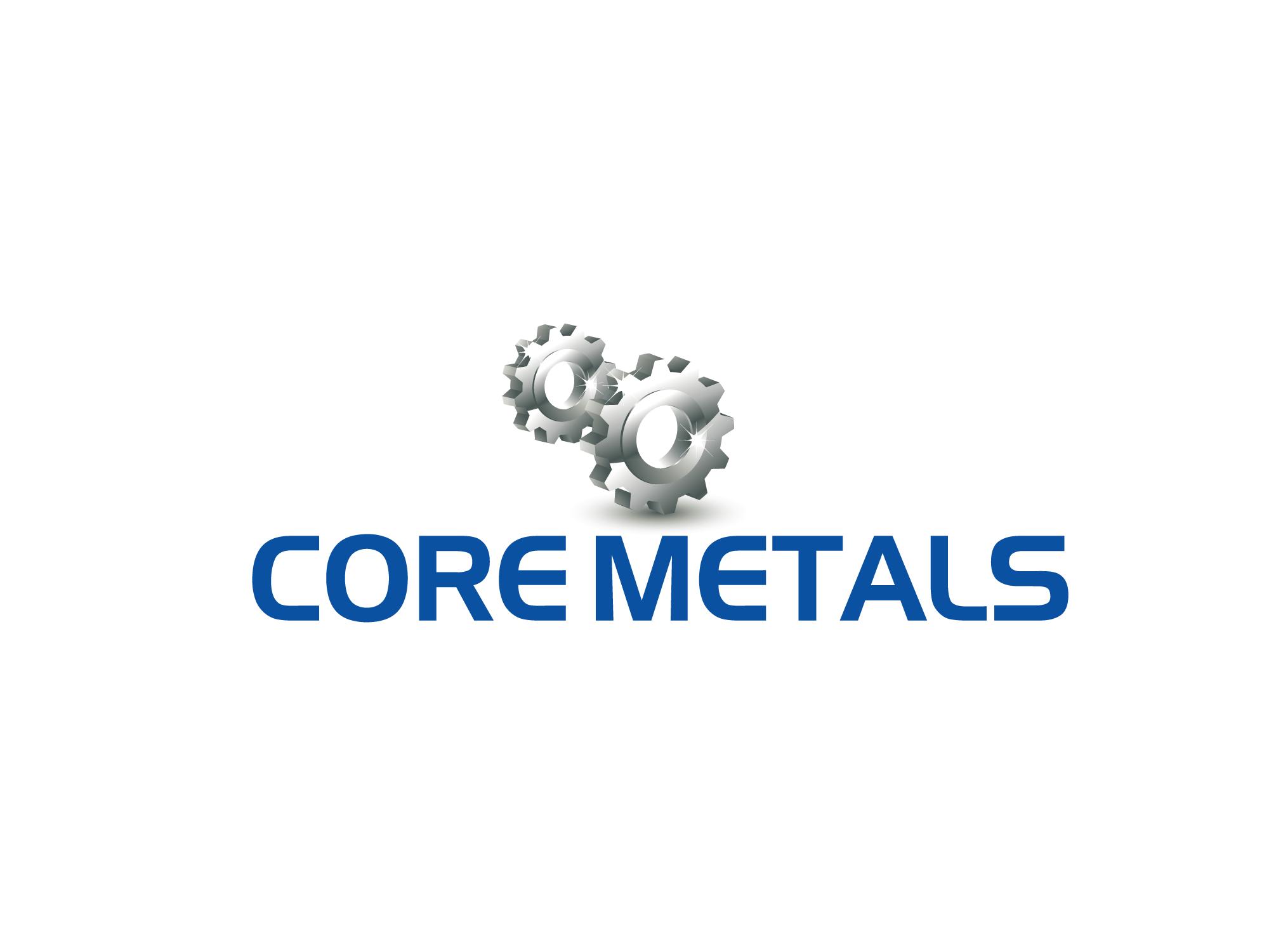 Logo Design by Rubayat Mahmud - Entry No. 53 in the Logo Design Contest New Logo Design for Core Metals Inc.