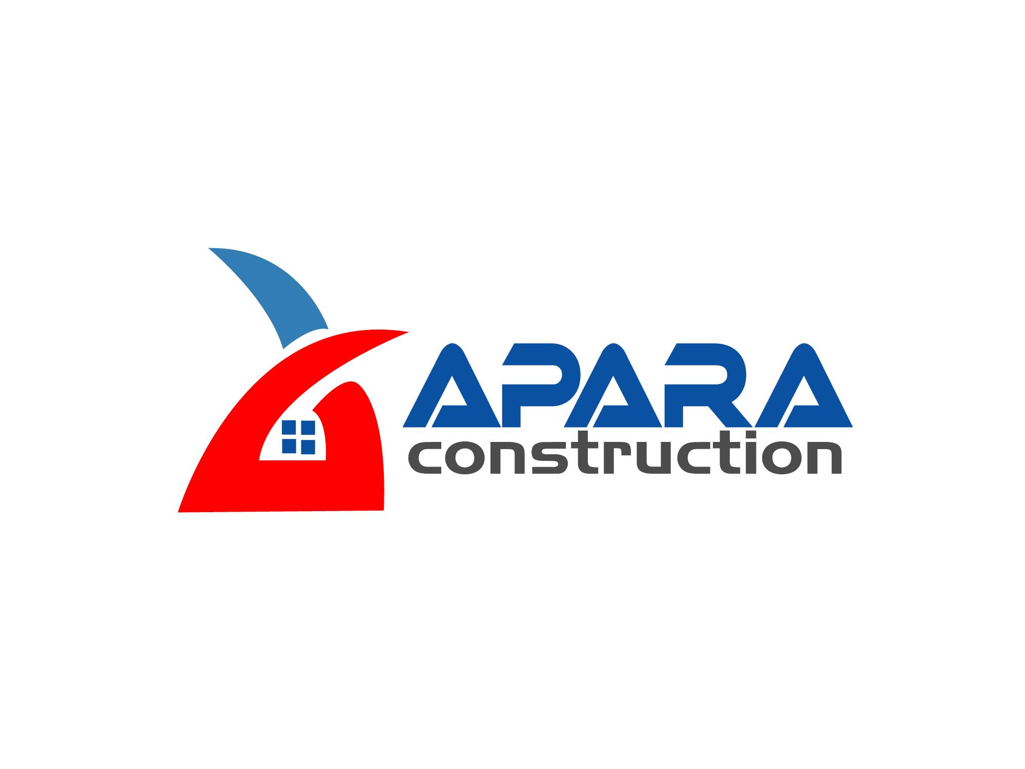Logo Design by Rubayat Mahmud - Entry No. 58 in the Logo Design Contest Apara Construction Logo Design.