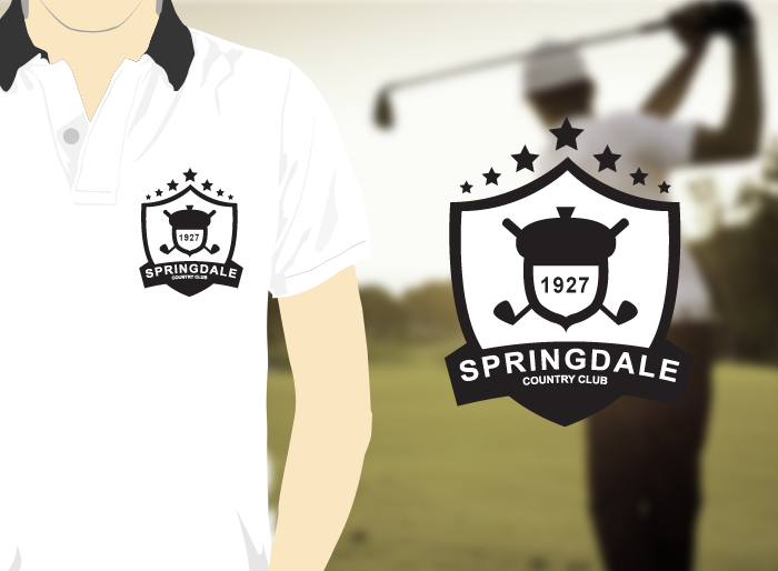 Logo Design by Jan Chua - Entry No. 129 in the Logo Design Contest Unique Logo Design Wanted for Springdale Country Club.