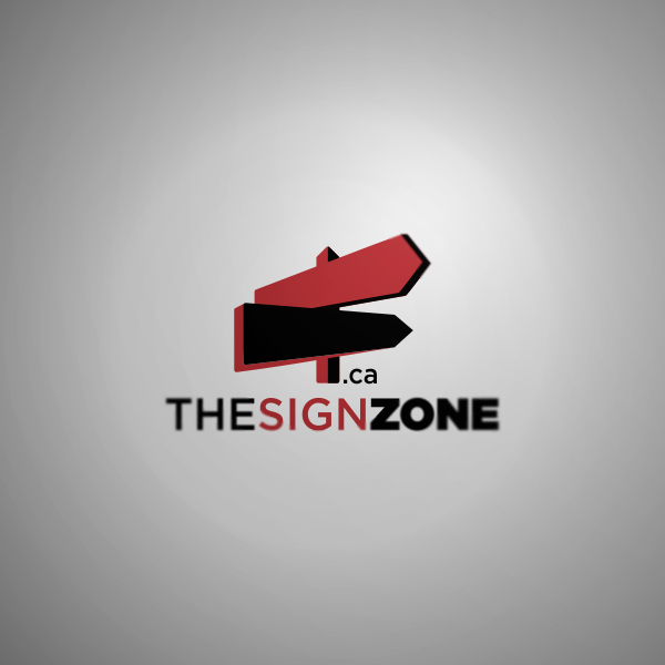 Logo Design by Private User - Entry No. 25 in the Logo Design Contest Fun Logo Design for The Sign Zone.