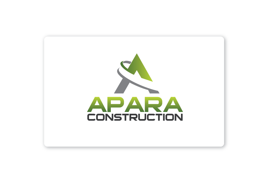 Logo Design by Private User - Entry No. 60 in the Logo Design Contest Apara Construction Logo Design.