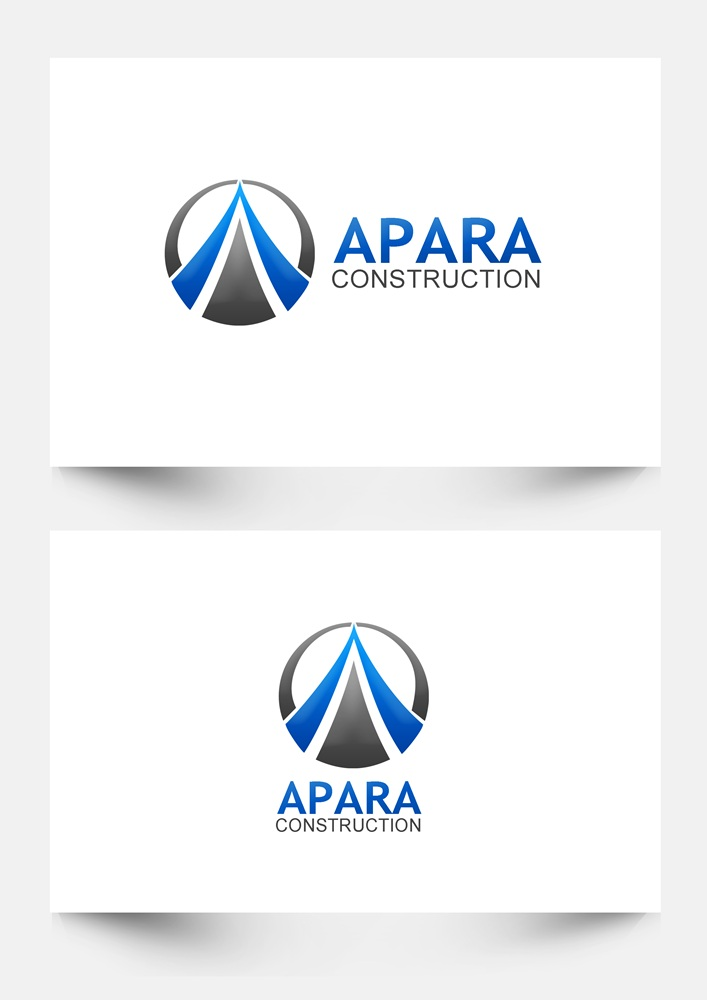 Logo Design by Respati Himawan - Entry No. 64 in the Logo Design Contest Apara Construction Logo Design.