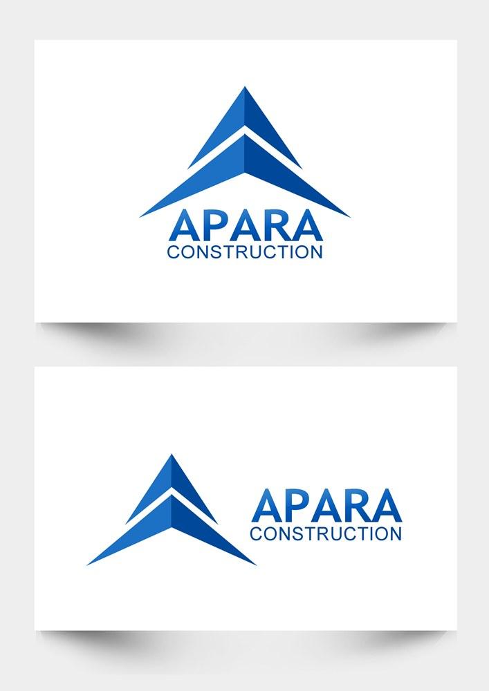 Logo Design by Respati Himawan - Entry No. 65 in the Logo Design Contest Apara Construction Logo Design.