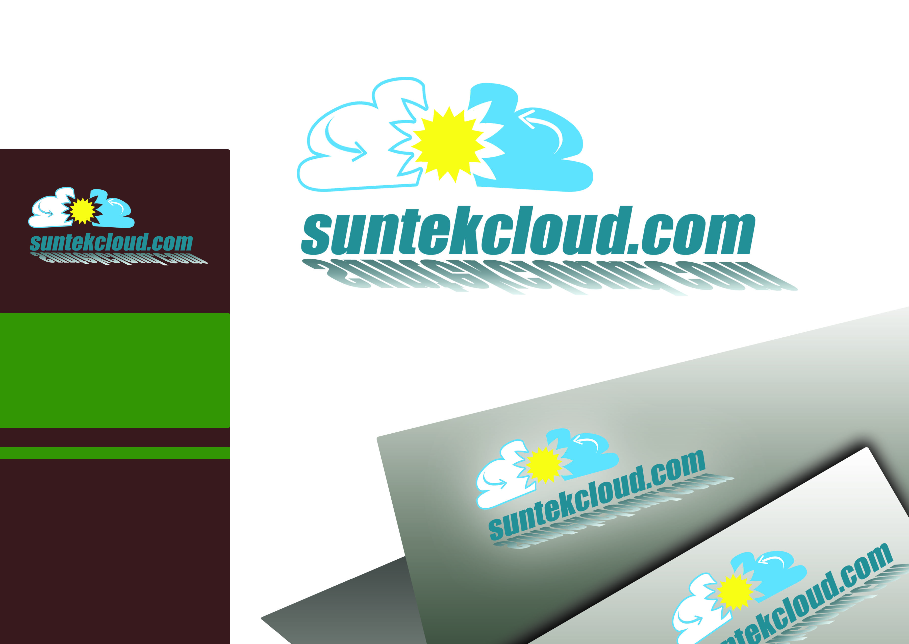 Logo Design by Alan Esclamado - Entry No. 26 in the Logo Design Contest Imaginative Logo Design for suntekcloud.com.