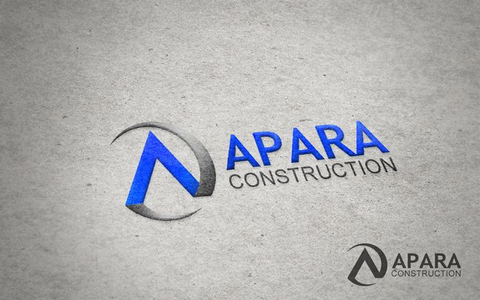 Logo Design by Respati Himawan - Entry No. 67 in the Logo Design Contest Apara Construction Logo Design.