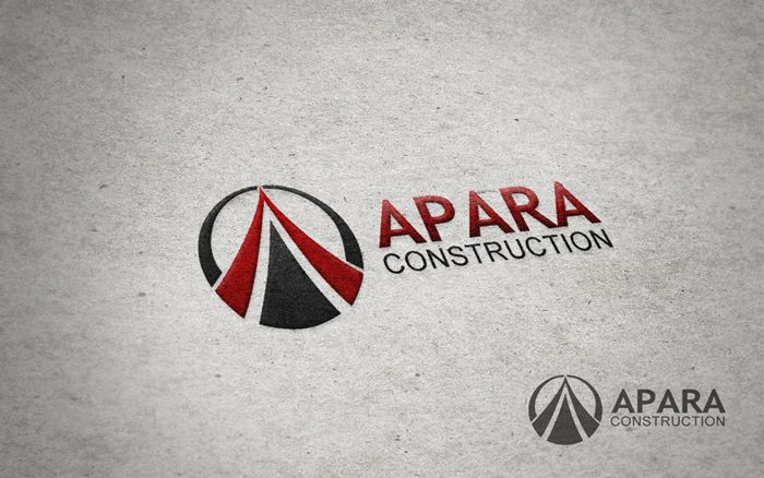 Logo Design by Respati Himawan - Entry No. 68 in the Logo Design Contest Apara Construction Logo Design.