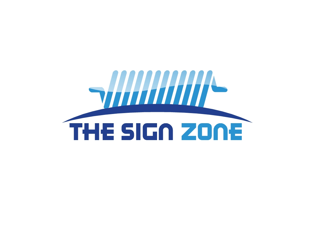 Logo Design by Marco Paulo Jamero - Entry No. 27 in the Logo Design Contest Fun Logo Design for The Sign Zone.