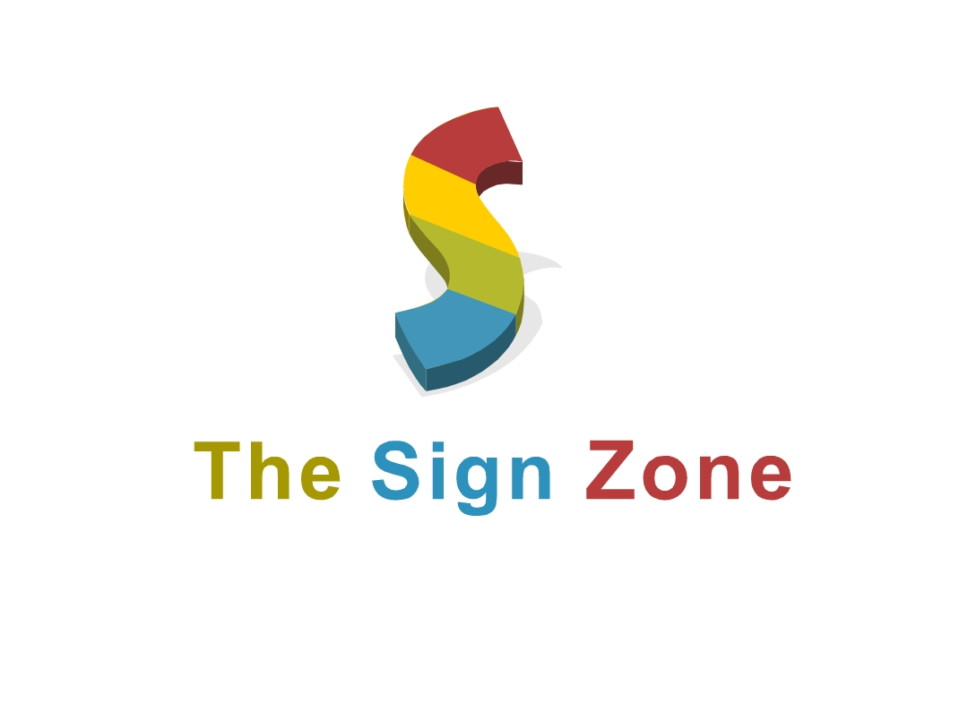Logo Design by Marco Paulo Jamero - Entry No. 29 in the Logo Design Contest Fun Logo Design for The Sign Zone.