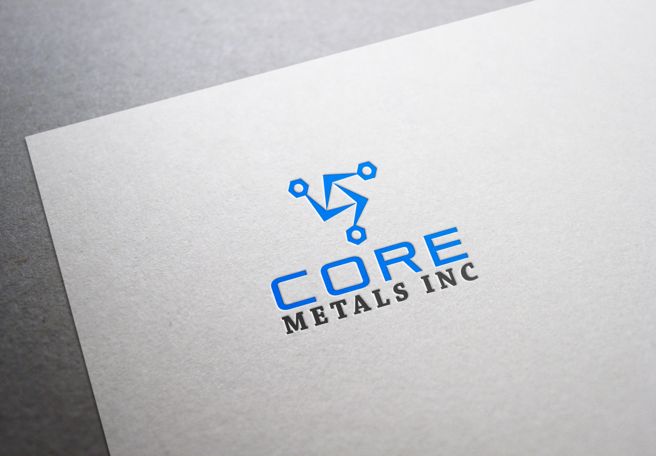 Logo Design by fireacefist - Entry No. 58 in the Logo Design Contest New Logo Design for Core Metals Inc.