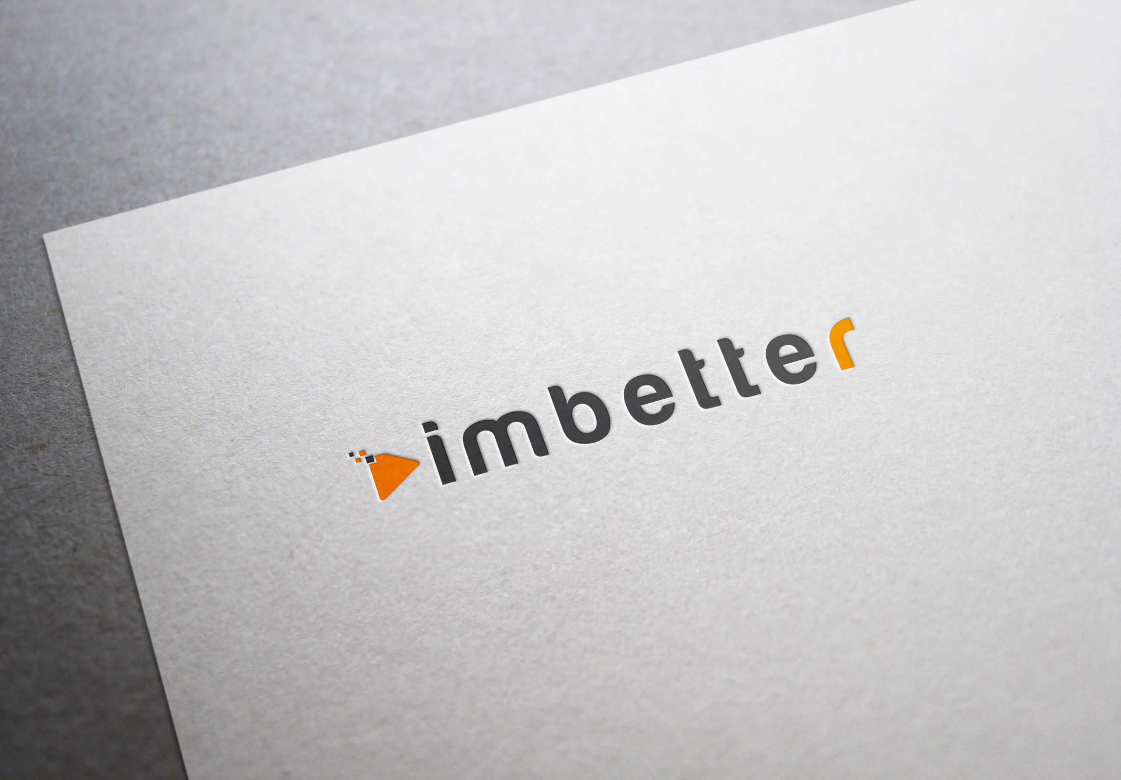 Logo Design by fireacefist - Entry No. 40 in the Logo Design Contest Imaginative Logo Design for imbetter.